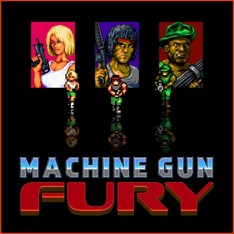 Machine Gun Fury